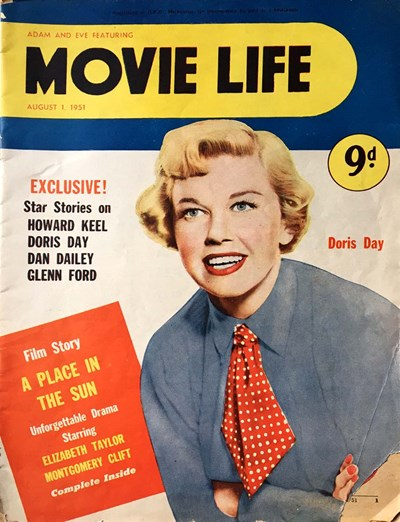 Adam and Eve Featuring Movie Life (Southdown Press, 1946? series) v6#2 ([1 August 1951?])