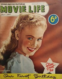 Adam and Eve Featuring Movie Life (Southdown Press, 1946? series) v2#1 (1 July 1947)