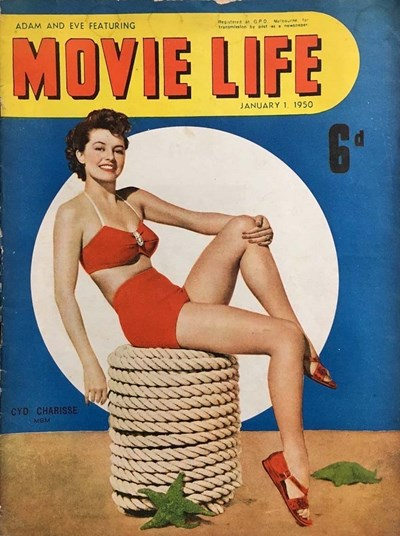 Adam and Eve Featuring Movie Life (Southdown Press, 1945 series) v4#7 (January 1950)