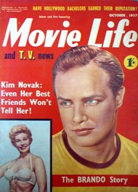 Adam and Eve Featuring Movie Life and T.V. News (Southdown Press, 1956 series) October 1957 (October 1957)