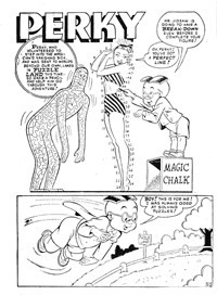 Diet Slurp & Hiccup Private Investigators (Horwitz, 1958? series) #7 — Puzzle Land (page 1)