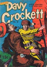 Fearless Davy Crockett (Yaffa/Page, 1965? series) #10 — Untitled (Cover)