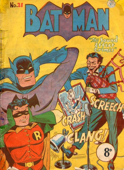 Batman (Colour Comics, 1950 series) #21 ([February 1952?])