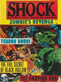 Shock: Chilling Tales of Horror & Suspense (Yaffa/Page, 1976? series) #8 — Zombie's Revenge (Cover)
