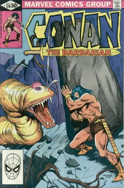 Conan the Barbarian (Marvel, 1970 series) #126 (September 1981)