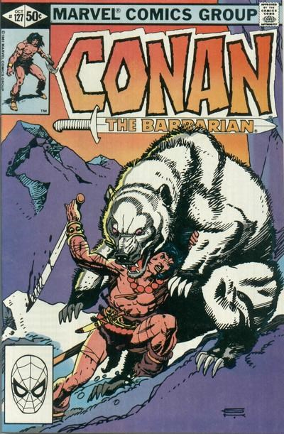 Conan the Barbarian (Marvel, 1970 series) #127 (October 1981)
