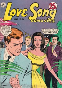 Love Song Romances (Colour Comics, 1959 series) #38 ([March 1966?])