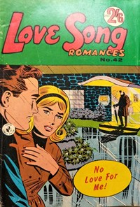 Love Song Romances (Colour Comics, 1959 series) #42 ([1966?])