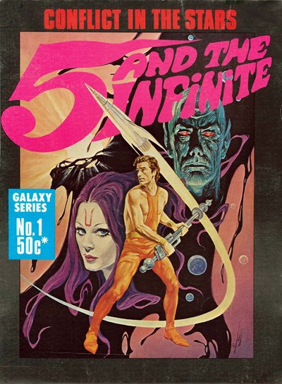 5 and the Infinite (Gredown, 1978?) #1 ([1978?]) —Galaxy Series
