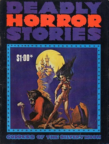 Goddess of the Silvery Moon—Deadly Horror Stories (Gredown, 1980? series)  ([1980?])
