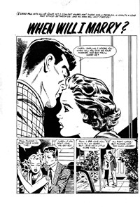 Alone in Love (Horwitz, 1957?)  — When Will I Marry? (page 1)