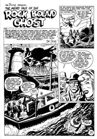 Doomsday (KG Murray, 1973 series) #16 — The Weird Tale of the Rock Bound Ghost (page 1)
