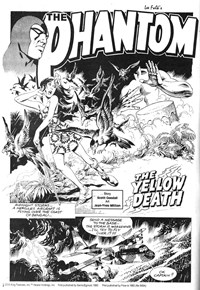 The Phantom (Frew, 1983 series) #1573 — The Yellow Death (page 1)