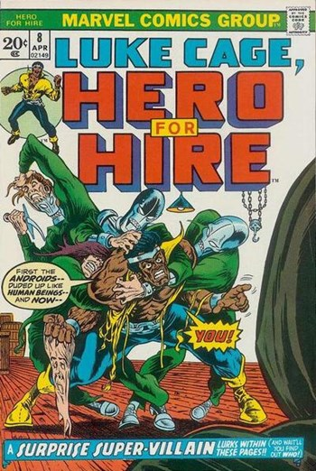 Hero for Hire (Marvel, 1972 series) #8 (April 1973)