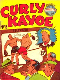 Curly Kayoe (New Century, 1951? series) #14 — Untitled (Cover)