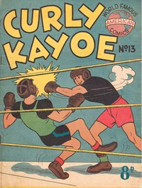 Curly Kayoe (New Century, 1951? series) #13 — Untitled (Cover)