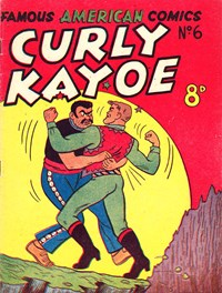 Curly Kayoe (New Century, 1951? series) #6 — Untitled (Cover)