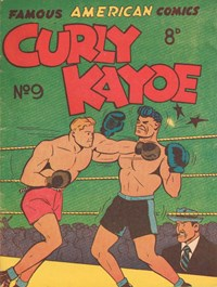 Curly Kayoe (New Century, 1951? series) #9 — Untitled (Cover)