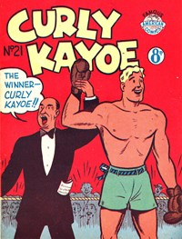 Curly Kayoe (New Century, 1951? series) #21 — Untitled (Cover)