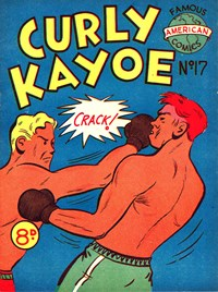 Curly Kayoe (New Century, 1951? series) #17 — Untitled (Cover)