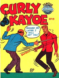 Curly Kayoe (New Century, 1951? series) #19 — Untitled (Cover)