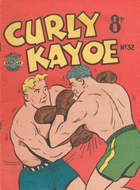 Curly Kayoe (New Century, 1951? series) #32 — Untitled (Cover)