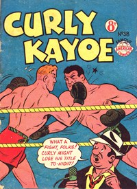 Curly Kayoe (New Century, 1951? series) #38 — Untitled