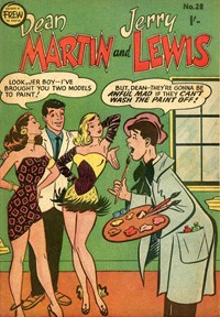 The Adventures of Dean Martin and Jerry Lewis (Frew, 1956 series) #28 ([April 1958?])