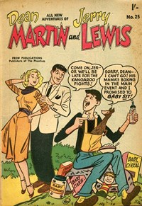 The Adventures of Dean Martin and Jerry Lewis (Frew, 1956 series) #25 ([January 1958?])