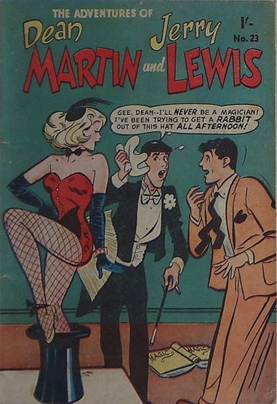 The Adventures of Dean Martin and Jerry Lewis (Frew, 1956 series) #23 ([November 1957?])