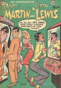 The Adventures of Dean Martin and Jerry Lewis (Frew, 1956 series) #9 ([September 1956?])
