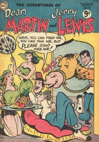 The Adventures of Dean Martin and Jerry Lewis (M. Rubin, 1956? series) #5 ([1956?])
