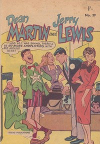 The Adventures of Dean Martin and Jerry Lewis (Tricho, 1959? series) #39 ([1959?])