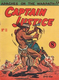 Captain Justice (New Century, 1950 series) #11 ([October 1951?])