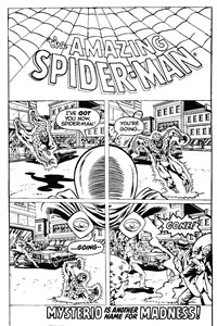 The Amazing Spider-Man (Yaffa/Page, 1977 series) #198-199 — Mysterio is Another Name for Madness (page 1)