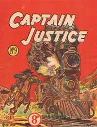 Captain Justice (New Century, 1950 series) #9 ([August 1951?])