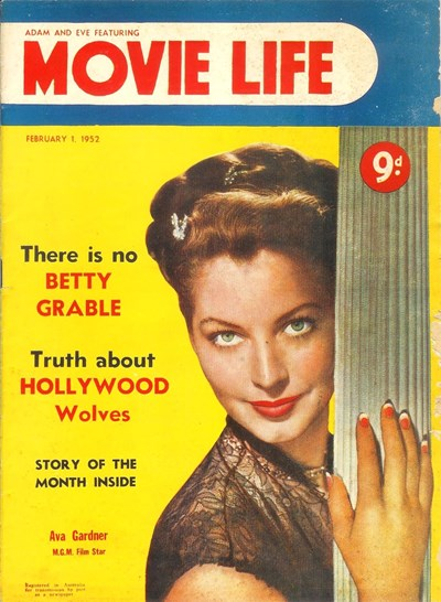 Adam and Eve Featuring Movie Life (Southdown Press, 1946? series) v5#8 (1 February 1952)