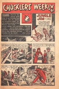 Chucklers' Weekly (Consolidated Press, 1954? series) v1#31 (26 November 1954)