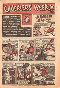 Chucklers' Weekly (Consolidated Press, 1954? series) v1#34 (17 December 1954)
