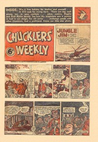 Chucklers' Weekly (Consolidated Press, 1954? series) v1#44 (25 February 1955)