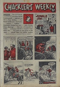 Chucklers' Weekly (Consolidated Press, 1954? series) v1#10 (2 July 1954)