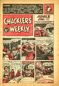 Chucklers' Weekly (Consolidated Press, 1954? series) v1#17 (20 August 1954)