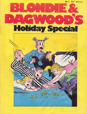 Blondie & Dagwood Holiday Special (Yaffa/Page, 1975 series) #1  ([1975?])