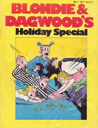 Blondie & Dagwood Holiday Special (Yaffa/Page, 1975 series) #1 — No title recorded (Cover)
