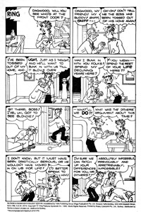 Blondie & Dagwood Holiday Special (Yaffa/Page, 1975 series) #1 — Untitled (page 1)