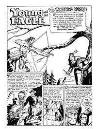 Fearless Davy Crockett (Yaffa/Page, 1965? series) #10 — The Vanishing Herds (page 1)