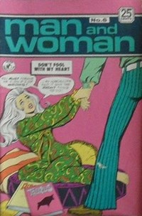 Man and Woman (Colour Comics, 1969? series) #6 ([January 1971?])