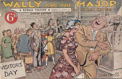 Wally and the Major [Herald] (Herald and Weekly Times, 1942? series) #8 ([December 1949])