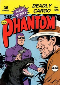 The Phantom (Frew, 1983 series) #965 — Deadly Cargo (Cover)