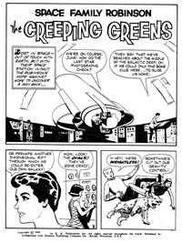 Space Family Robinson (Rosnock, 1979) #29022 — The Creeping Greens (page 1)